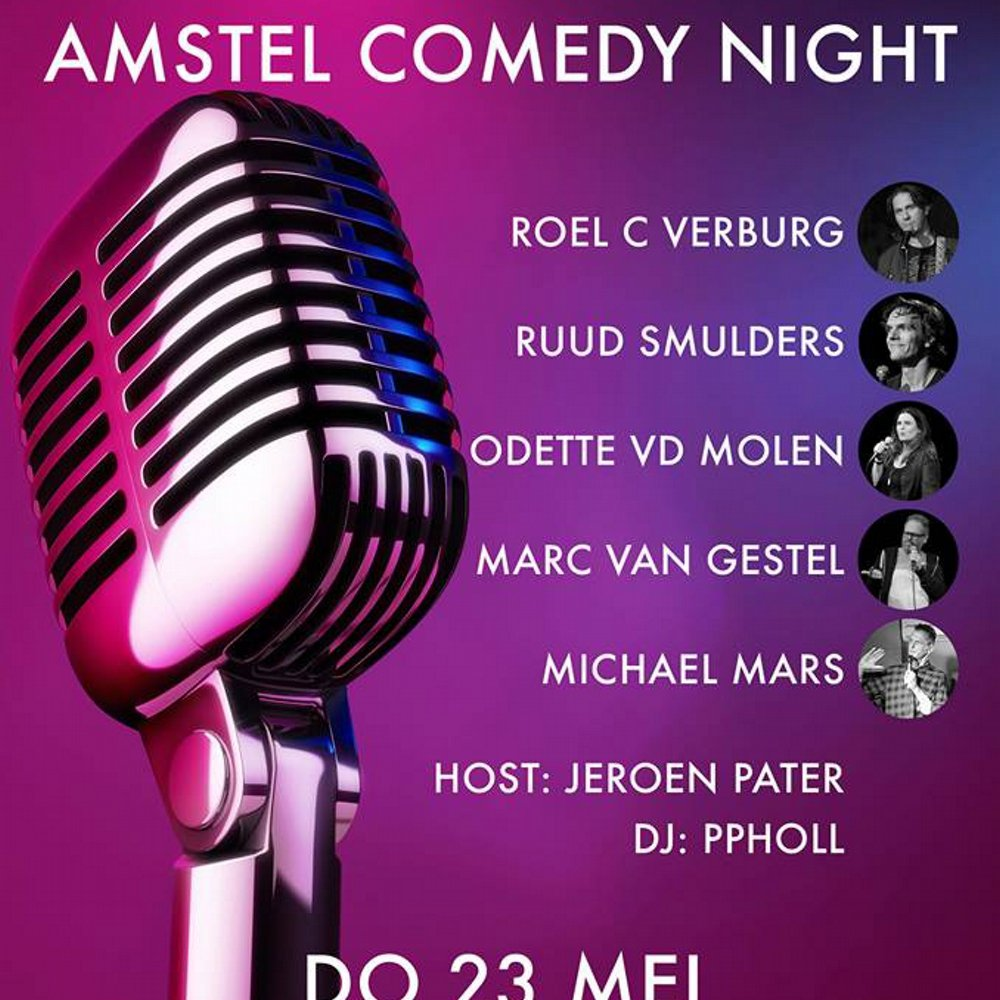 Amstel comedy night